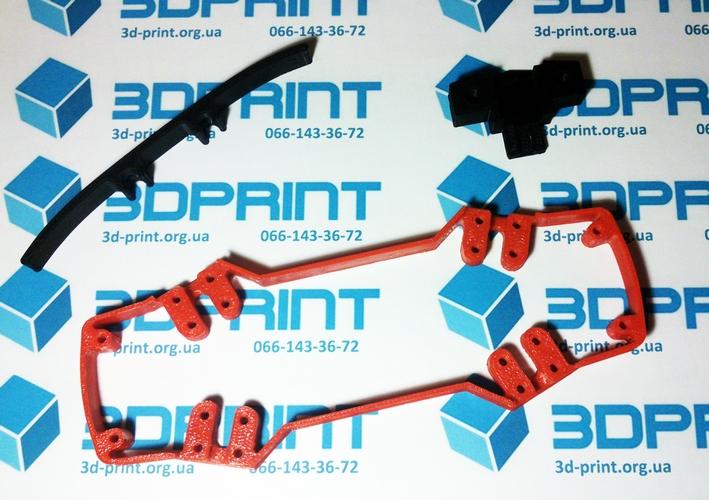 3д печать деталей квадрокоптера zmr 250
