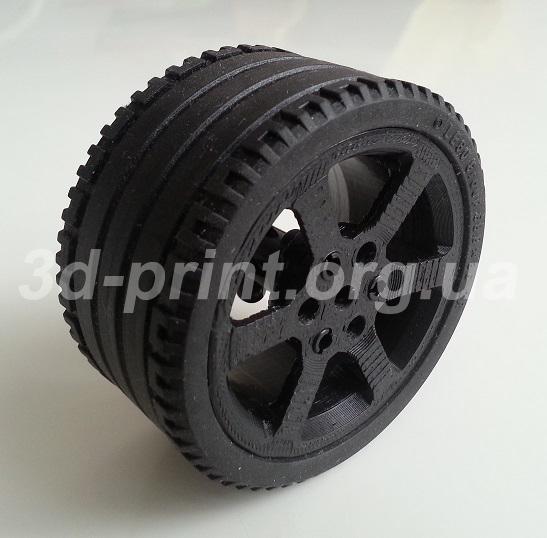 3д печать колеса