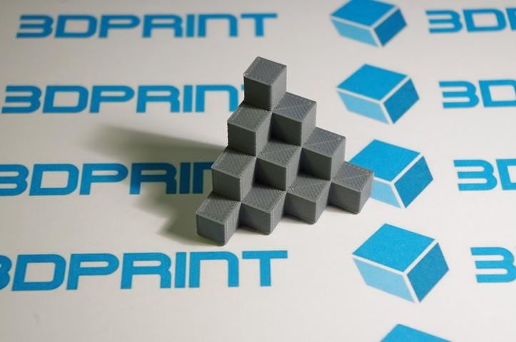 3д печать серым ABS пластиком